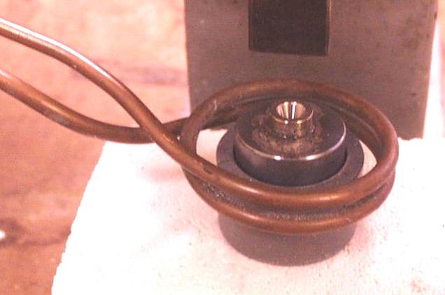 Ambrell感应加热器的应用-钎焊42:导丝辊上焊接钢模