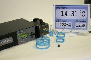 Ambrell感应加热器用于纳米颗粒溶液研究