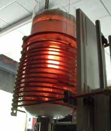 美国Ambrell EKOHEAT感应加热系统在晶圆制造中的应用-石墨坩埚加热