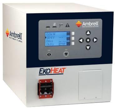 美国Ambrell EKOHEAT感应加热器 100 kHz系列 应用于钢的热处理,浅层深度硬化以及钢,铝,铜或黄铜的加热,以进行钎焊,热缩配合,固化,成型和熔化