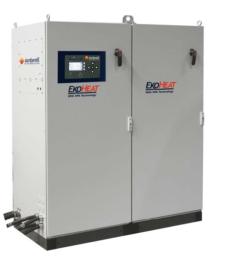 美国Ambrell EKOHEAT感应加热器 10 kHz系列 应用包括需要更深的热渗透的加热部件,对钢进行热处理,对钢,铝,铜或黄铜进行锻造的预热以及在坩埚中的熔化