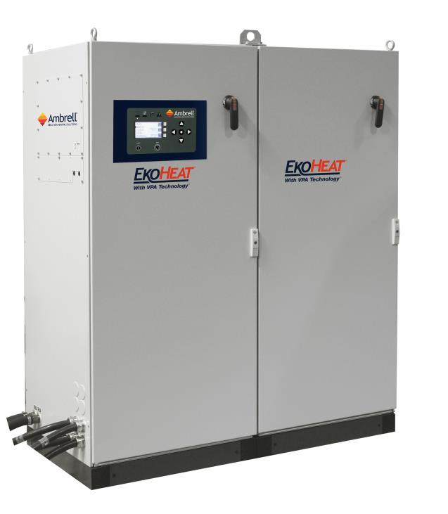 美国Ambrell EKOHEAT感应加热器 25 kHz系列 应用于钢的热处理,钢,铝,铜或黄铜的锻造预热,晶体生长以及石墨和金属坩埚的加热