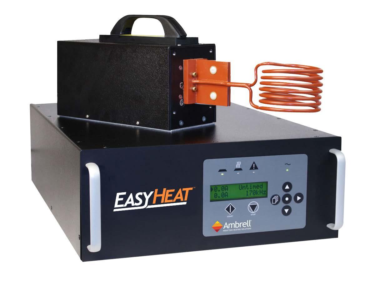 Ambrell感应加热系统应用-铜组件钎焊