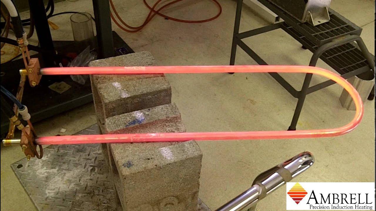 美国ambrell进口感应加热系统应用于感应退火不锈钢管