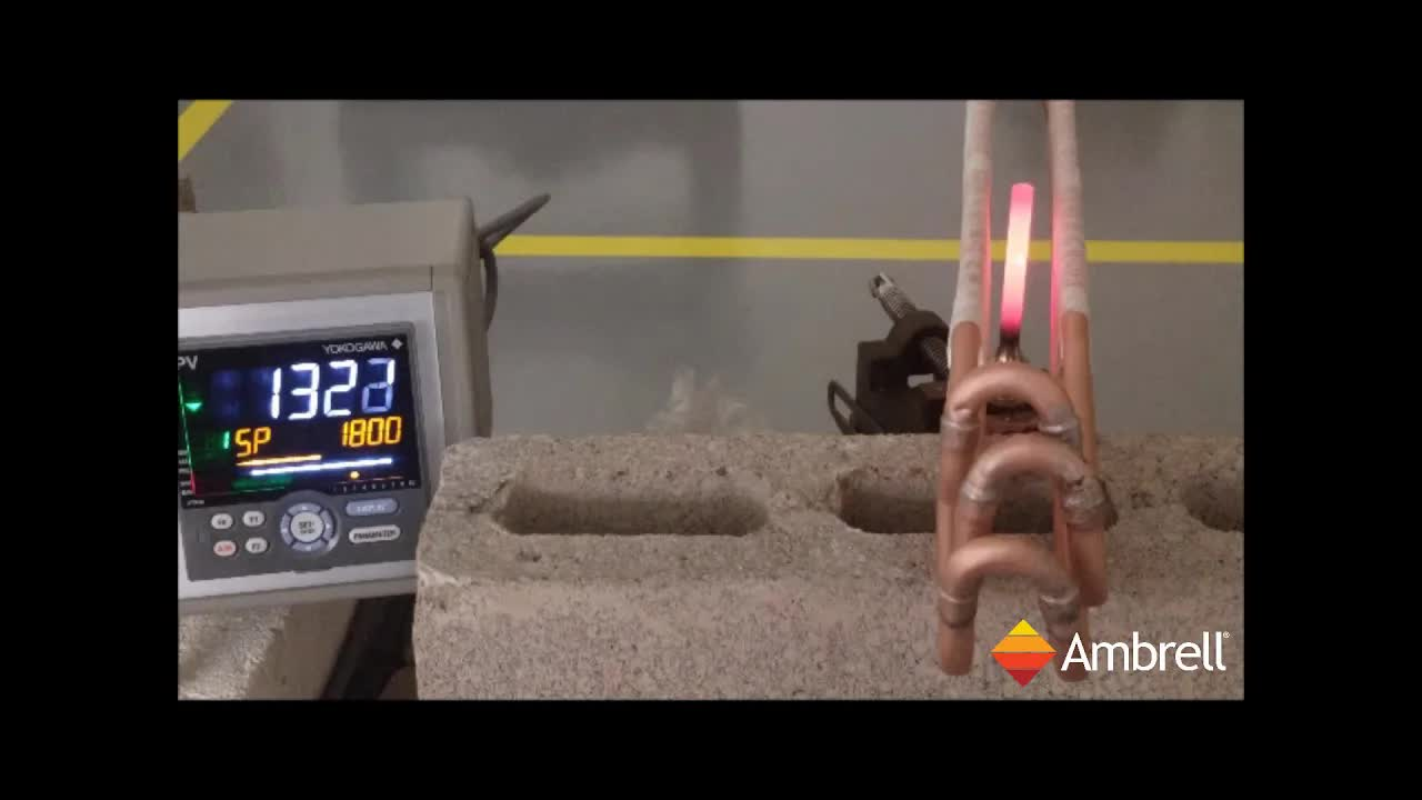 美国ambrell进口感应加热系统应用于感应加热对钢零件进行退火