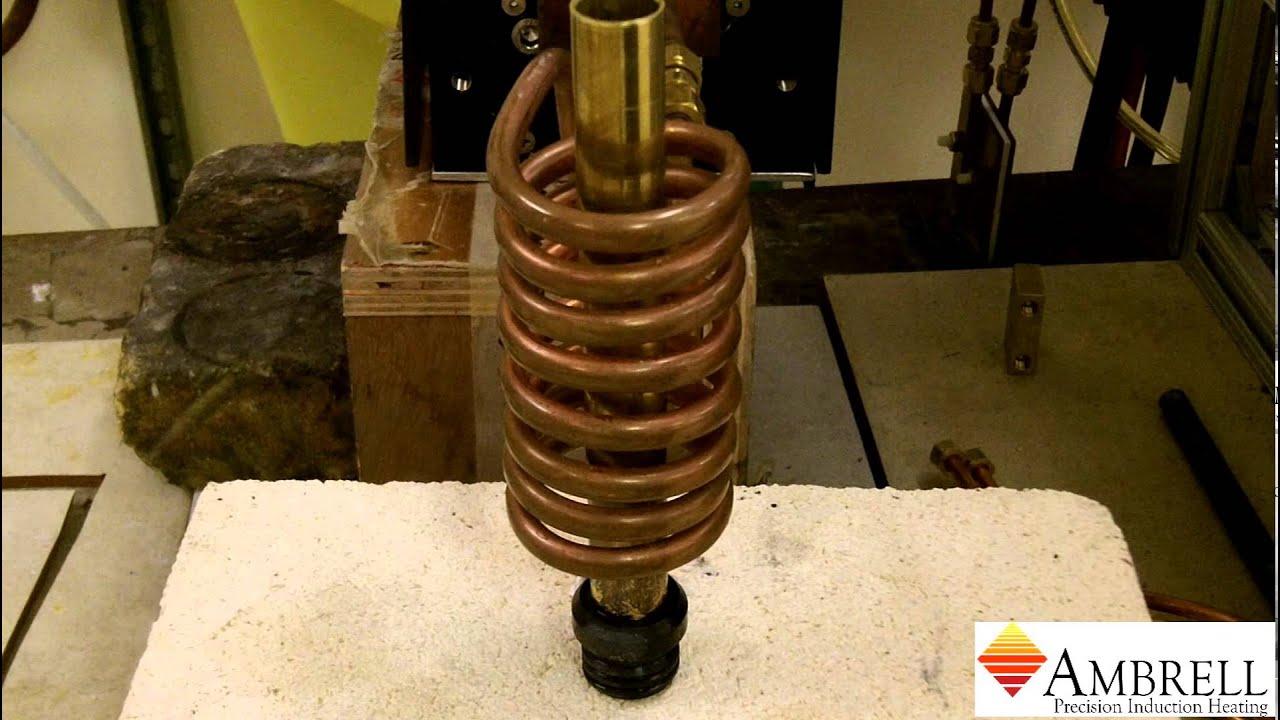 美国ambrell进口感应加热系统应用于感应加热退火黄铜管