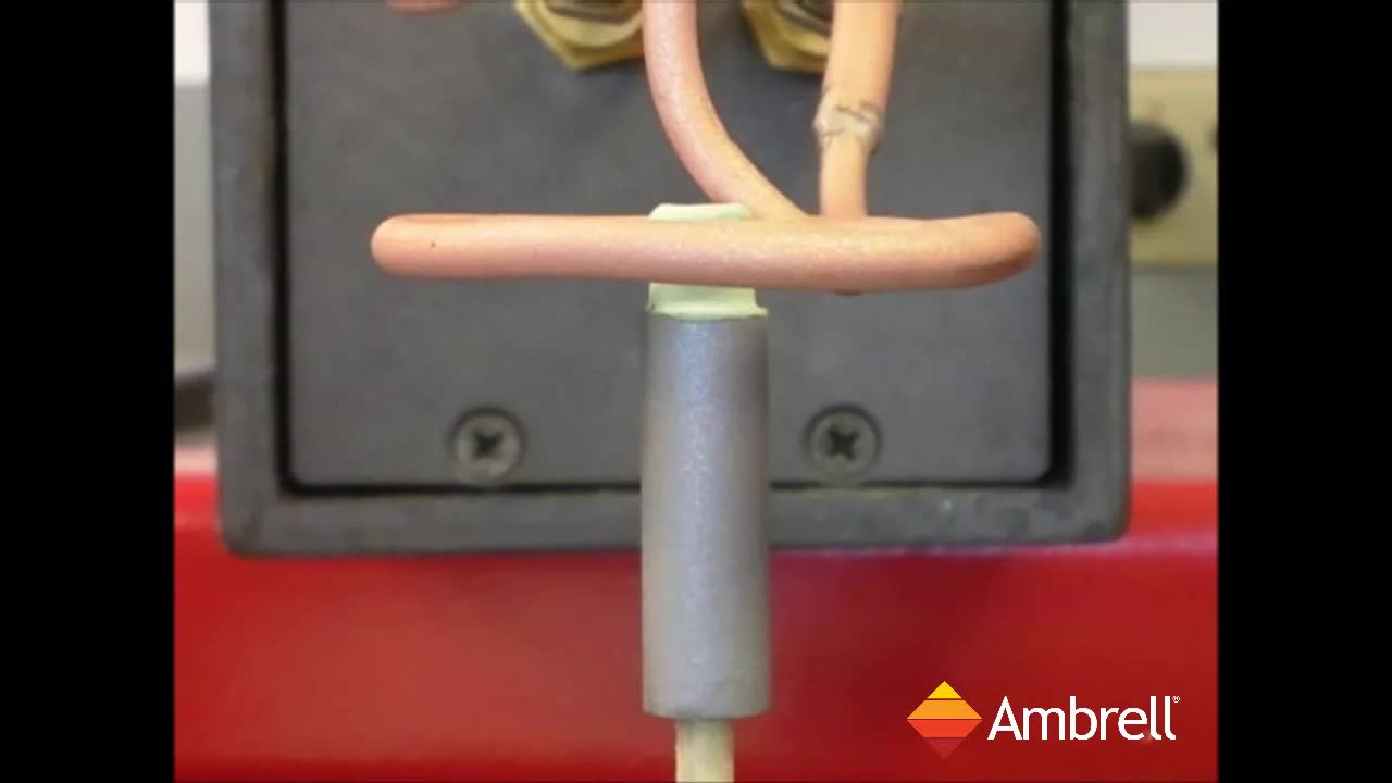 美国ambrell进口感应加热系统应用于退火钢零件的尖端