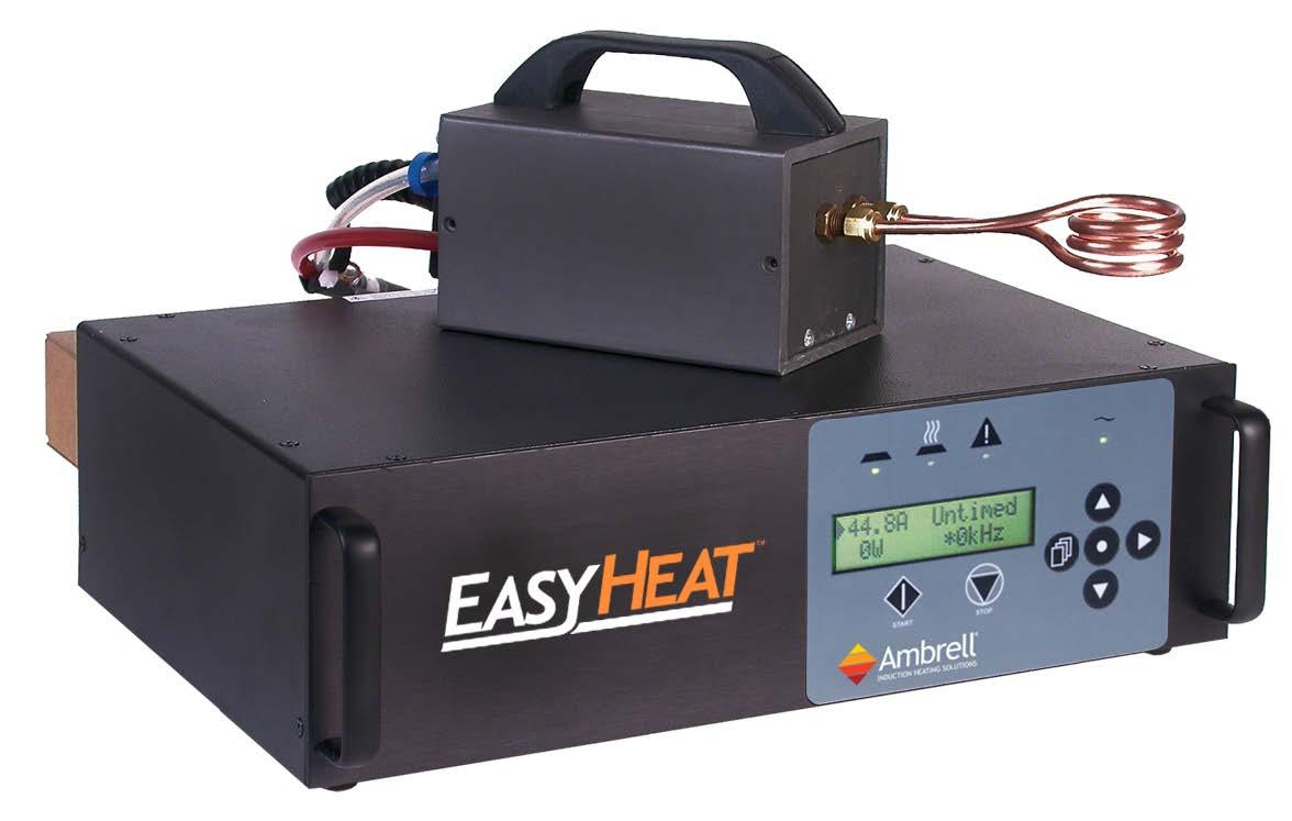 Ambrell感应加热器在航空航天工业的应用:将硬质合金旋转锉焊接到高速钢柄上
