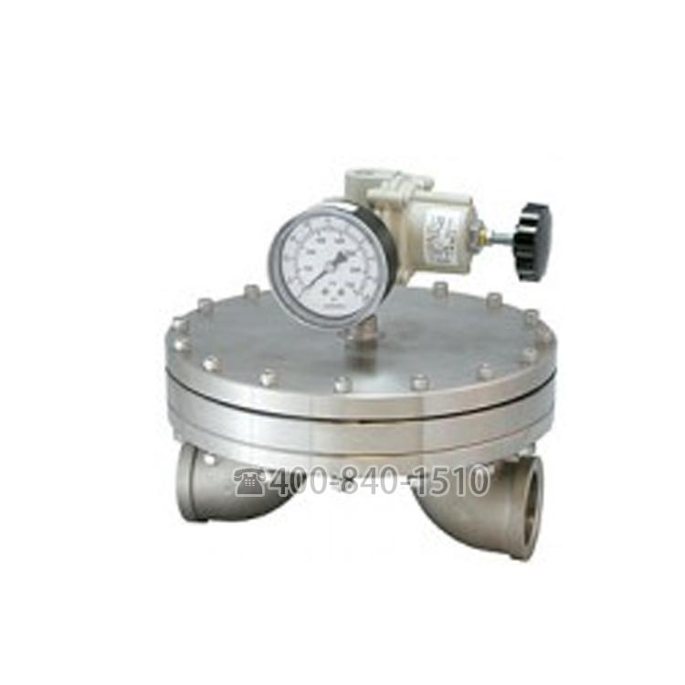 BD系列背压调节器 背压阀,管道尺寸从1.5〃到4〃适用于更高流量的应用,用于气体、液体和混合相应用
