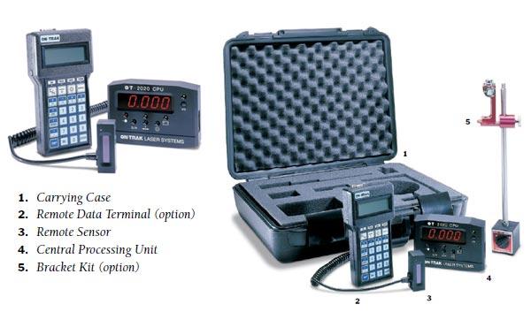 美国ON-TRAK, OT-2020,平面度, 方正度, 直线度, 激光测量仪, 垂直仪, 垂直度偏差测定仪, 平整仪, 直线度的测量,