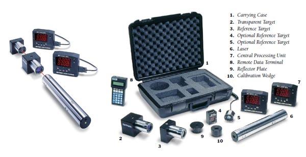美国On-Trak OT-4040便携式激光对准系统