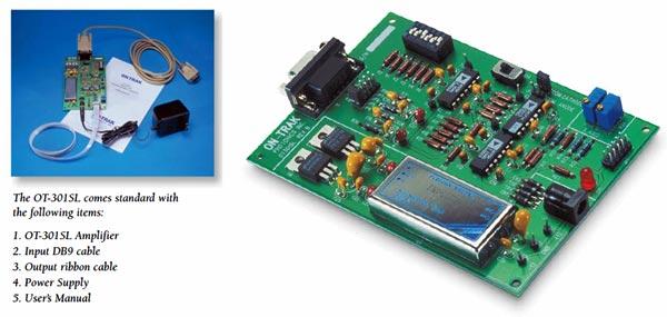 美国On-Trak OT-301SL-单轴PSD位置检测放大器