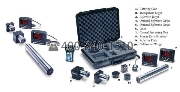 美国On-Trak OT-4040便携式二维激光对准系统