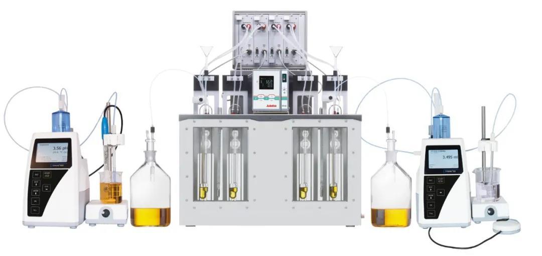 安全的聚合物自动测量系统,油品K 值计算,绝对及相对粘度测量,赛波特粘度测量