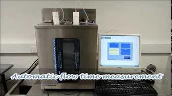 英国PSL Rheotek  RUV运动粘度计,在玻璃毛细管粘度计中替代手动测量的全自动方法,装有标准的ASTM Ubbelohde管