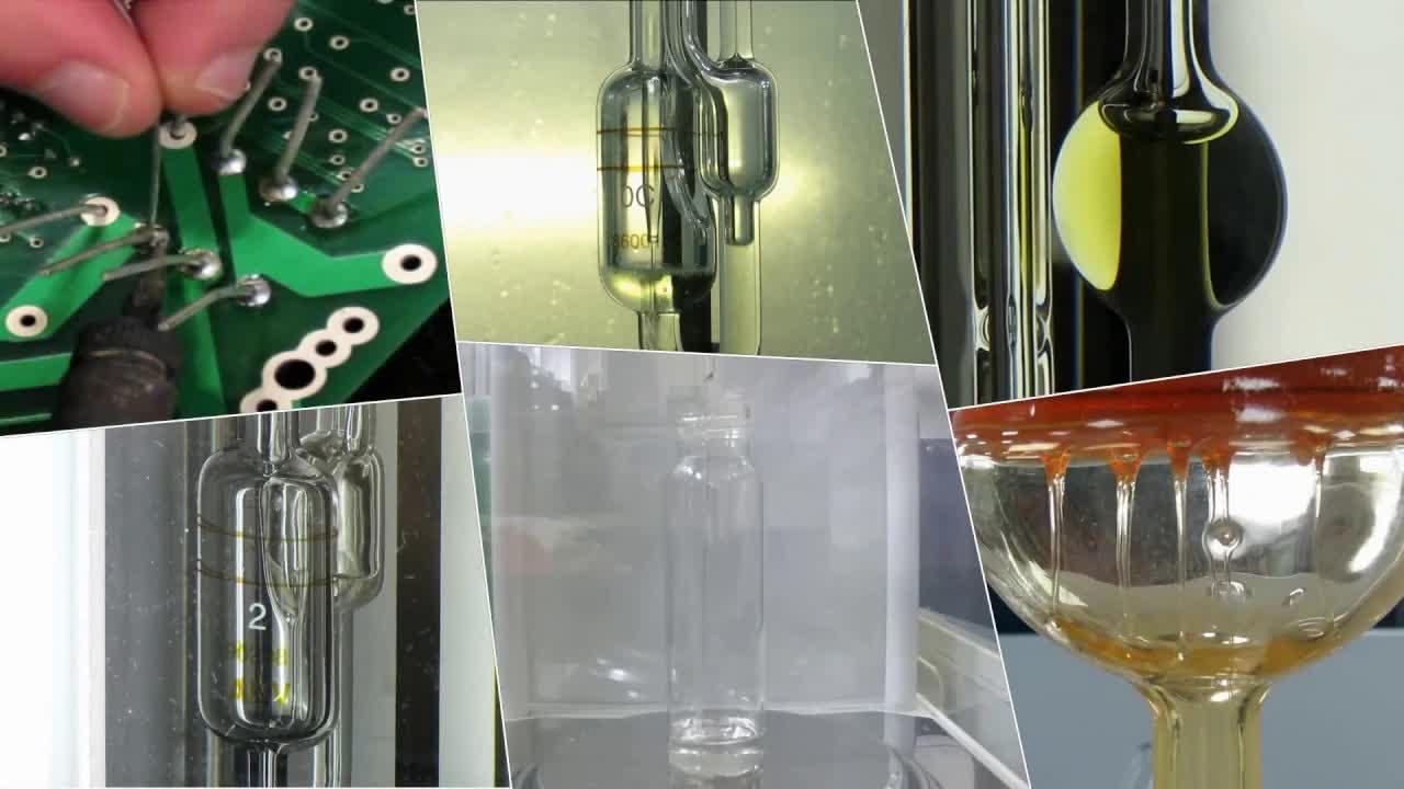 英国PSL-Rheotek玻璃毛细管粘度计的校准和重新校准