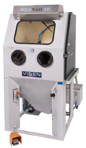 金属3D打印后处理专用抛光喷砂设备